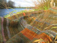 Plant Dyeing, peg loom weaving, Brinkley loom weaving & felting