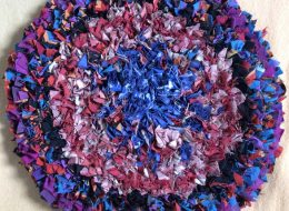 Rag rug making in Cirencester