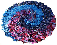 Rag rug making at Black Country Living Museum